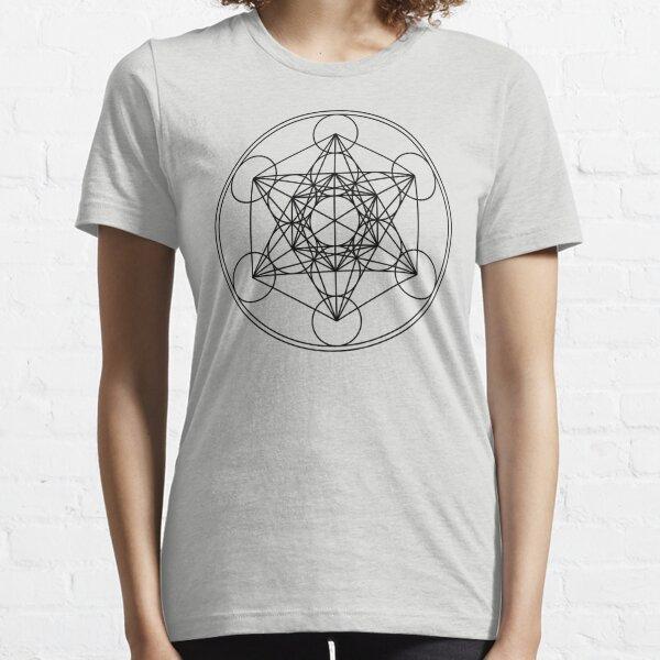 Metatrons Cube, Flower of life, Sacred Geometry Essential T-Shirt