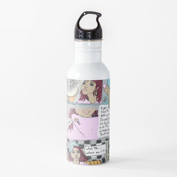 time warp comic Water Bottle