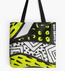 Abstract Fluoro 11  Tote Bag