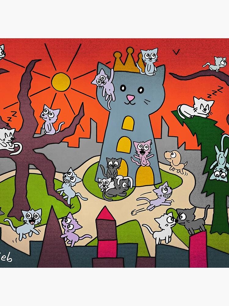 Katzenstadt von islieb