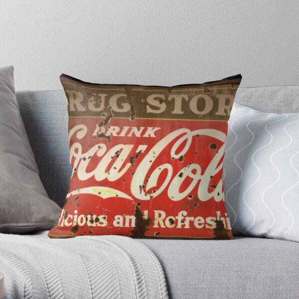 Coca Cola Vintage Christmas Gift Shirt Throw Pillow