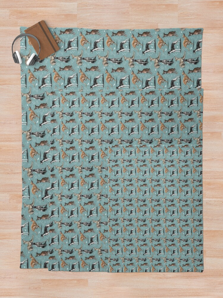 Alternate view of The Whippet Throw Blanket