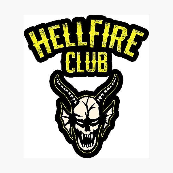 Hellfire club stranger things Photographic Print