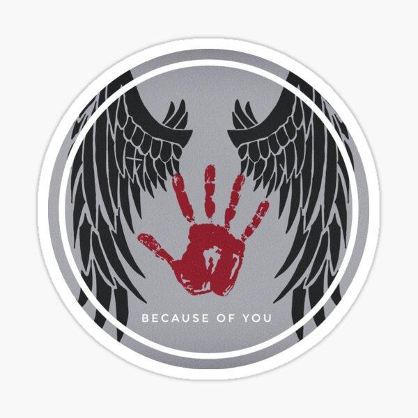 Destiel: wegen dir Sticker