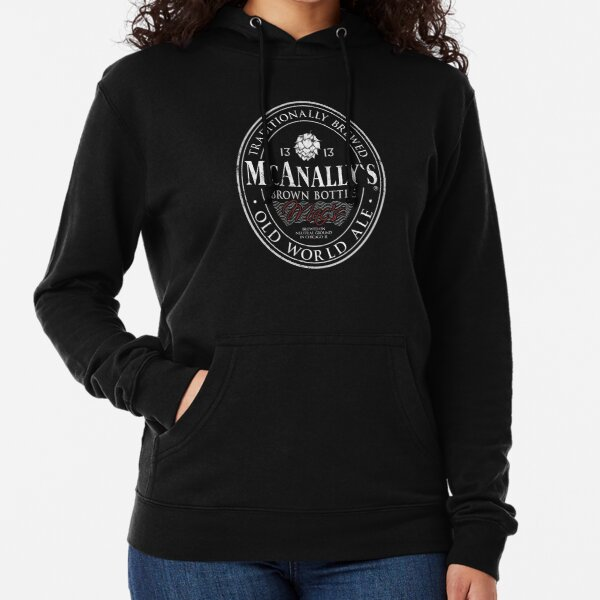 McAnally's Brown Bottle Traditionally Brewed Old World Ale Lightweight Hoodie