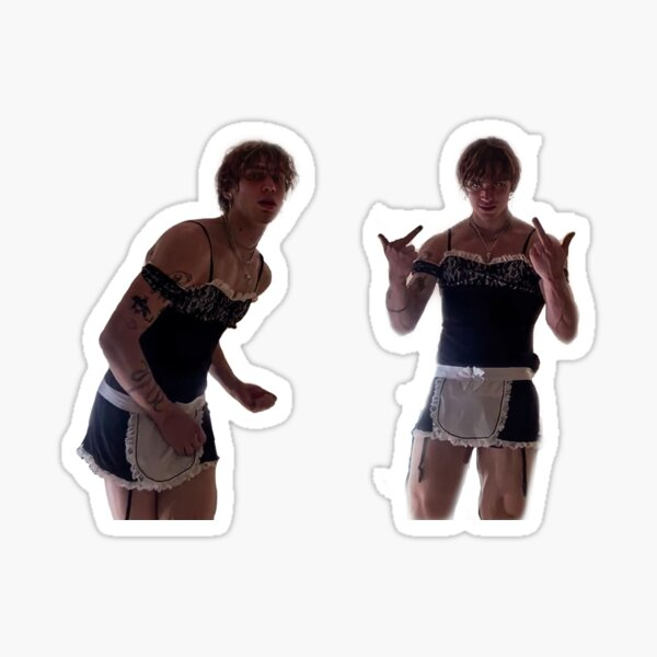 vinnie the maid Sticker