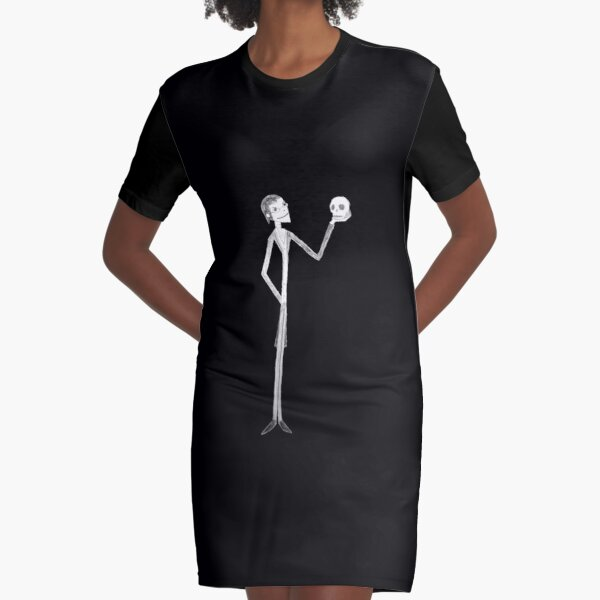 What A Lovely Skull Graphic T-Shirt Dress