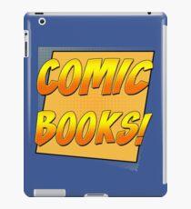 Retro Comic Books T Shirt iPad Case/Skin