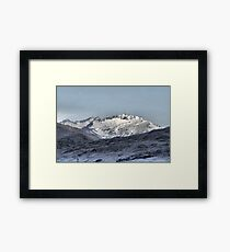 From the Crown Range Road  ( 3 ) Framed Print