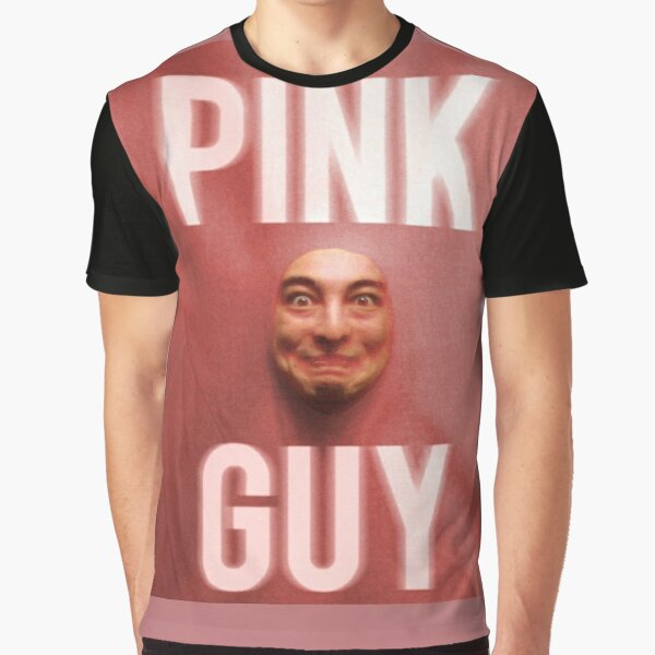Pink Guy Album Cover Graphic T-Shirt