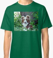 Beauty In Camouflage - Border Collie - NZ Classic T-Shirt