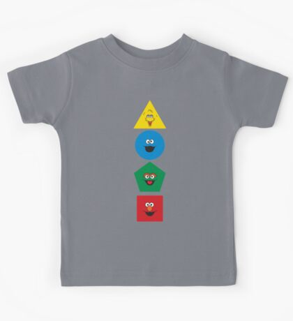 Sesame Street Primary Colors Basic Shapes Kids Clothes