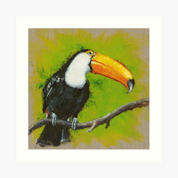 Toucan Impression artistique
