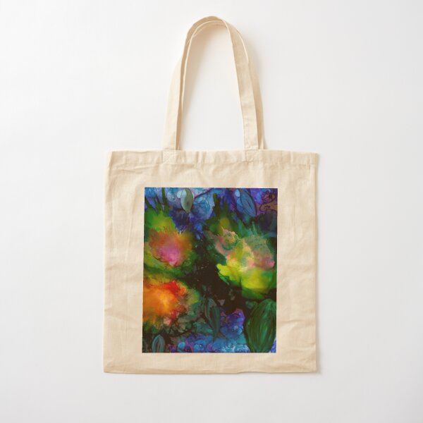 Lily Pads on Water Cotton Tote Bag