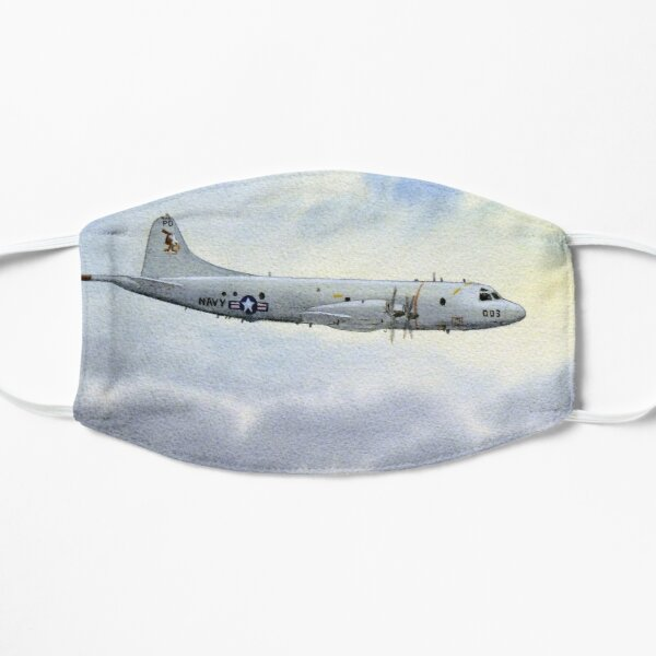P-3 Orion Aircraft Flat Mask