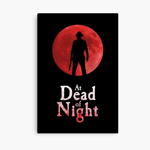 At Dead Of Night Canvas Print
