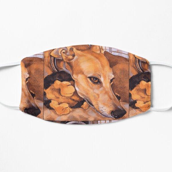 Greyhound Grace ~ Graphic Flat Mask
