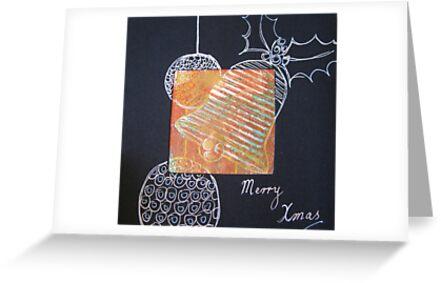 Xmas Card Design 5  by Heatherian