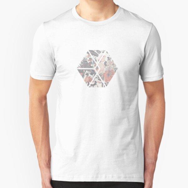 Exo Floral Slim Fit T-Shirt