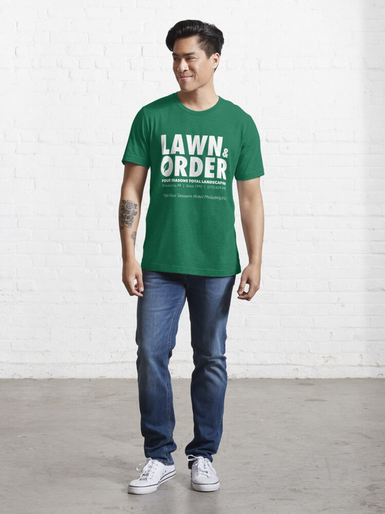 Alternate view of Lawn & Order: Four Seasons Total Landscaping Essential T-Shirt