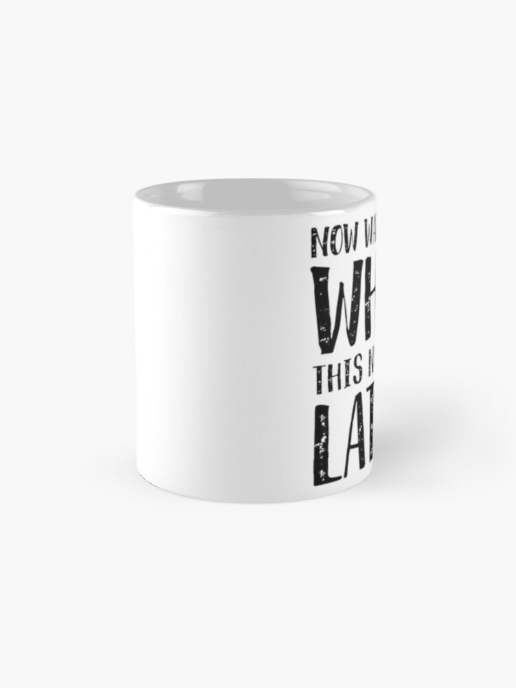 Alternate view of Now Watch Me Whip This Nonfat Latte Mug