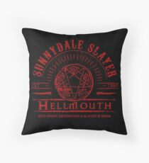 Hellmouth Throw Pillow