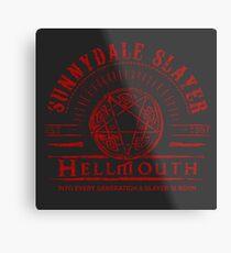 Hellmouth Metal Print