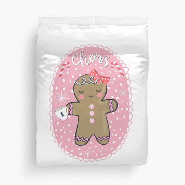 Gingerbread Girl Duvet Cover