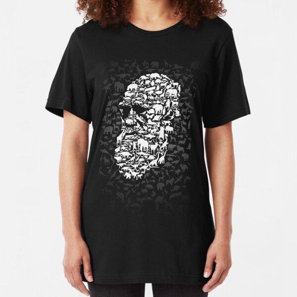 Darwin; Endless Forms Slim Fit T-Shirt