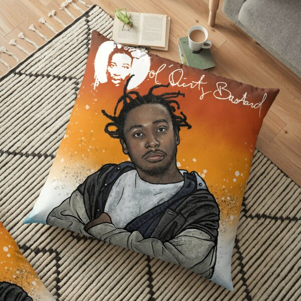 ODB (graffiti 1) Floor Pillow