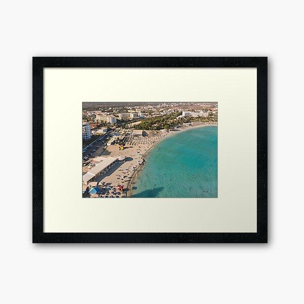 Nissi Beach - Ayia Napa Framed Art Print