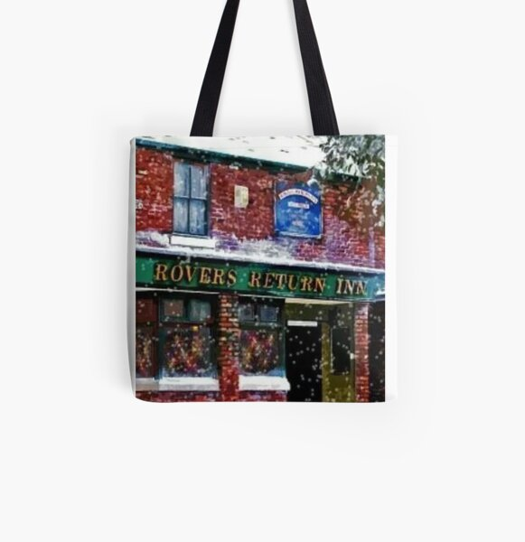 FESTIVE ROVERS RETURN FROM CORONATION STREET All Over Print Tote Bag