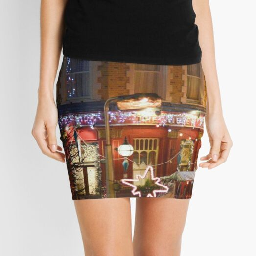 FESTIVE ALBERT SQURE FROM EASTENDERS Mini Skirt