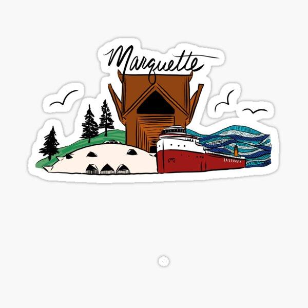 Marquette, Michigan  Sticker