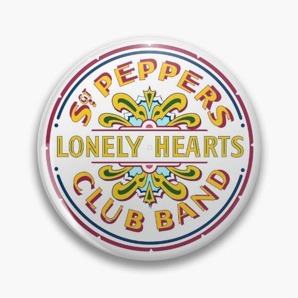 [HIGH QUALITY] Sgt Pepper Logo Pin