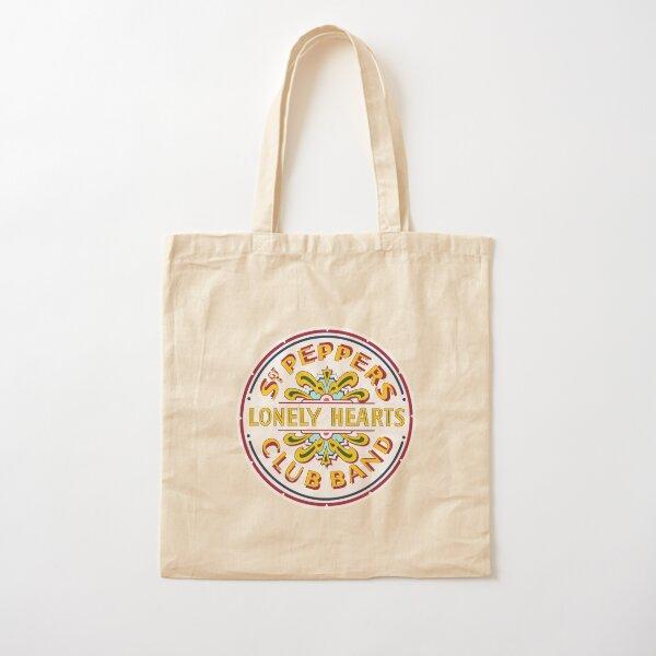 [HIGH QUALITY] Sgt Pepper Logo Cotton Tote Bag