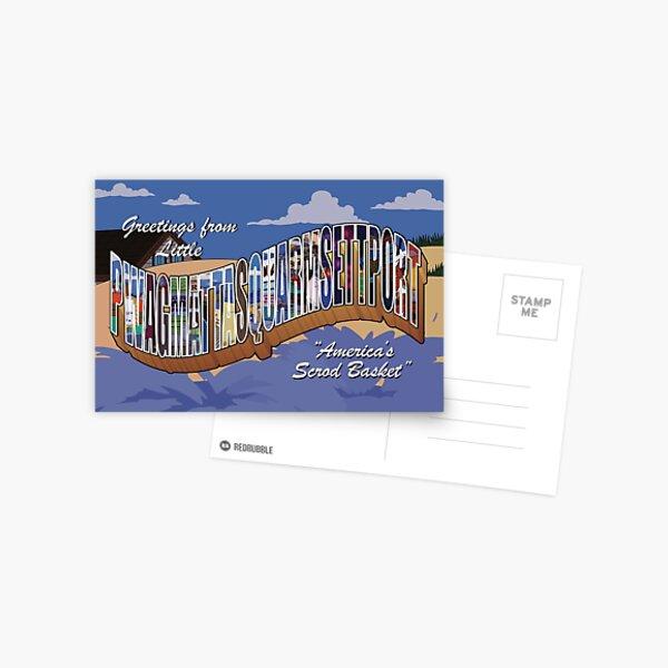 Greetings from Little Pwagmattasquarmsettport Postcard
