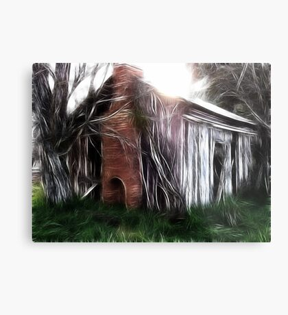 The Hut Revisited Metal Print