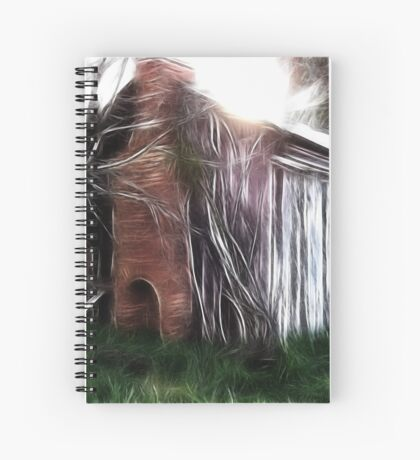 The Hut Revisited Spiral Notebook