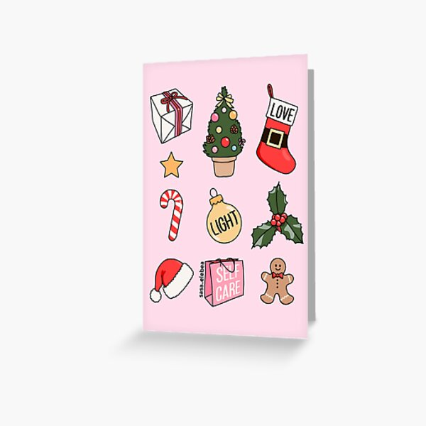 Christmas by Sasa Elebea Greeting Card
