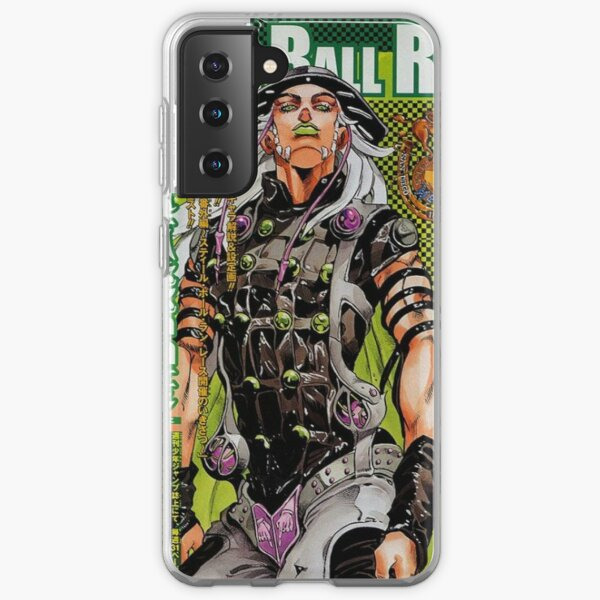 steel ball run gyro Samsung Galaxy Soft Case