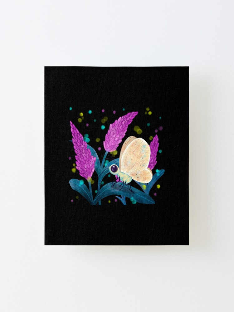 Alternate view of Butterfly Shine Mounted Print