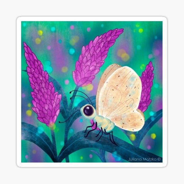Butterfly Shine Sticker