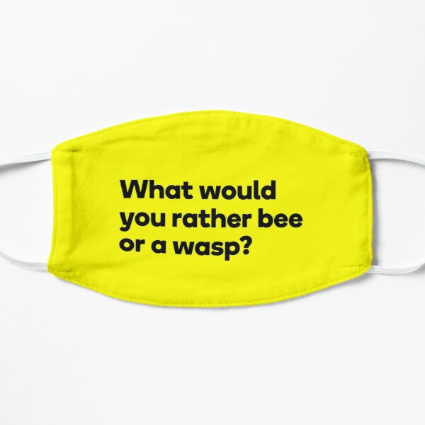 Bee or a Wasp? Mask