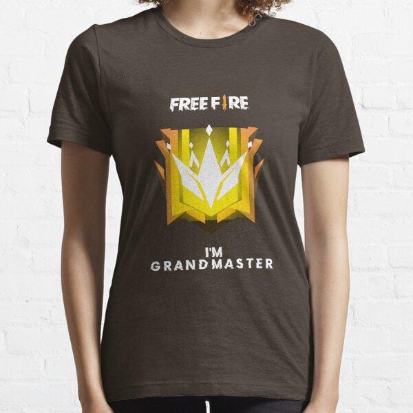 Gran maestro de Freefire Camiseta esencial