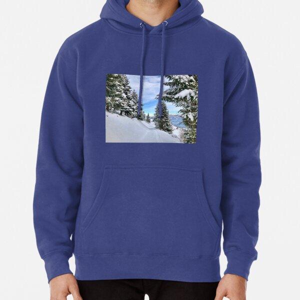 Switzerland Winter Wonderland Pullover Hoodie