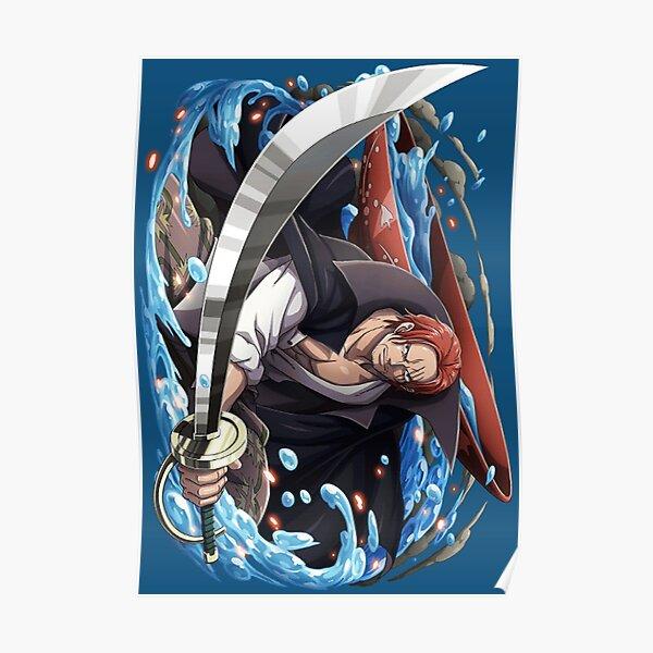 Shanks le roux Poster