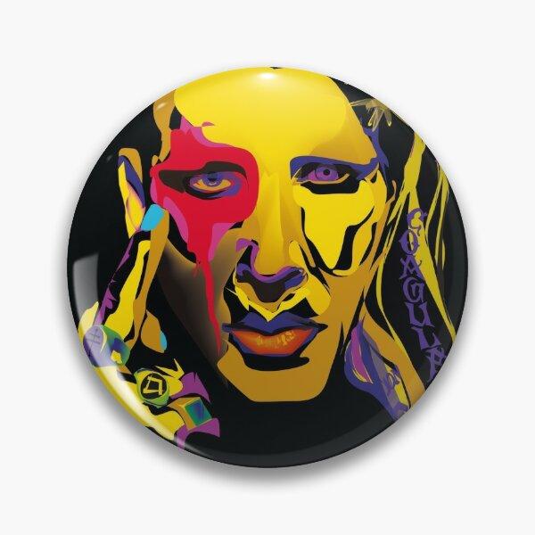 Marilyn Manson Badge