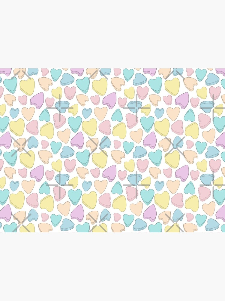 Pastel Hearts Spreads Love by PrintablesP