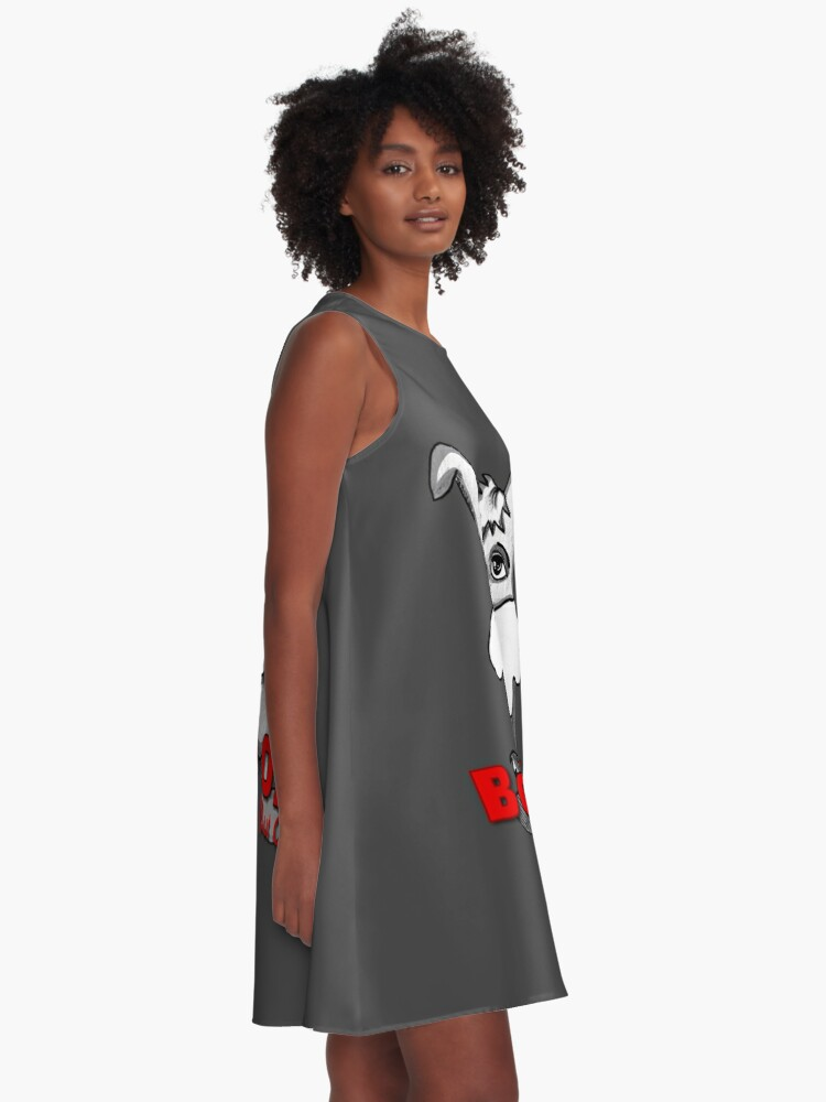 Alternate view of Born Old (But Cool) A-Line Dress